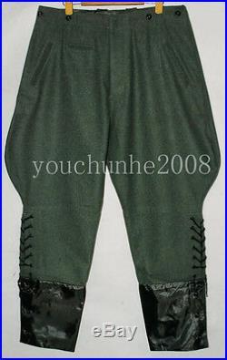 Wwii German M36 Officer Wool Field Uniform Tunic & Breeches L -32068
