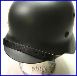 Wwii German M40 Combat Field Helmet- 64 Shell, 57 Liner