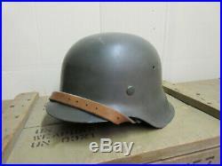 Wwii German / M42 Combat Helmet (et66)