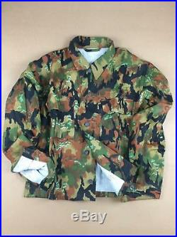 Wwii German M45 Leibermuster Camo Tunic & Trousers Set, Size M