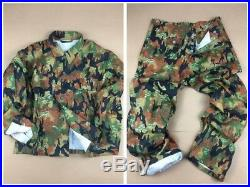 Wwii German M45 Leibermuster Camo Tunic & Trousers Set, Size S