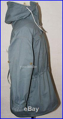 Wwii German Mouse Grey And White Reversible Mountain Anorak Smock S-32472