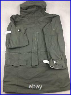Wwii German Mouse Grey Reversible Mountain Anorak Smock Trench Coat, Size L