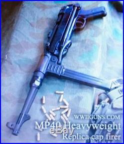 Wwii German Mp-40 Sub-machine Pistol Replica Modelgun (pfc
