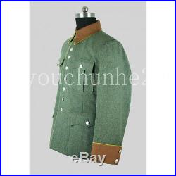Wwii German Ordnungspolizei Wool Tunic (custom Tailored / Made) -32571