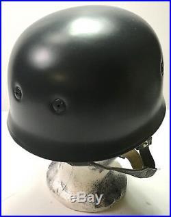 Wwii German Paratrooper M38 Jump Helmet- 71 Shell