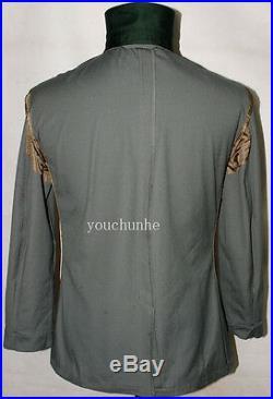 Wwii German Summer M36 Officer Cotton Field Tunic & Breeches Uniform Xl-32155