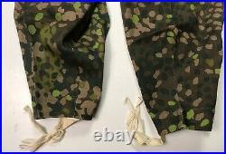 Wwii German Waffen Dot 44 Camo Field Trousers- Size 3 34-36 Waist