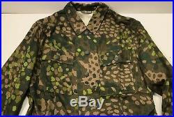 Wwii German Waffen Dot 44 Camo Field Tunic Jacket- Size 2 (38-40r)