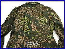 Wwii German Waffen Dot 44 Camo Field Tunic Jacket- Size 3 (42-46r)