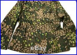 Wwii German Waffen Dot 44 Camo Field Tunic Jacket- Size 4 (48r-50r)