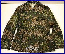 Wwii German Waffen Dot 44 Camo Field Tunic Jacket- Size 5 (50-54r)