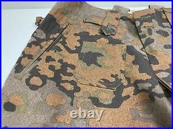 Wwii German Waffen Oak B Camo M37 Field Trousers-xlarge