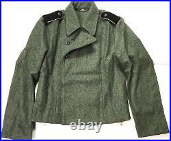Wwii German Waffen Panzer Tanker Wool Tunic Wrap-size 3 (42-44r)