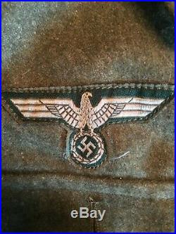 Wwii German Wehrmacht M43 Wool Tunic (large) Perfect Condition