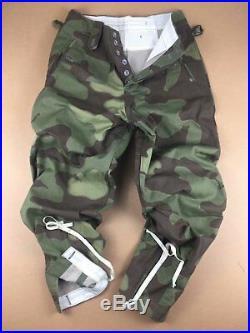 Wwii Ww2 German Army M43 Italian Camo Field Tunic & Trousers Set, Size L