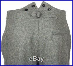 Wwii Ww2 German M36 Em Wool Field Military Uniform Set Tunic & Trousers XL