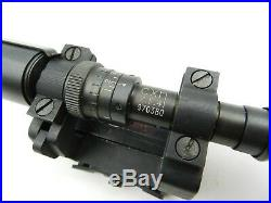 Z. F. 41 Sniper Marksman Scope with Mount, Reproduction K98k Zf 41 (#6318X)